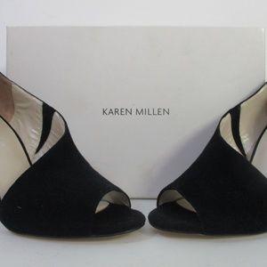 Karen Millen Black Cut OUt Pumps NIB 250 Sz 38